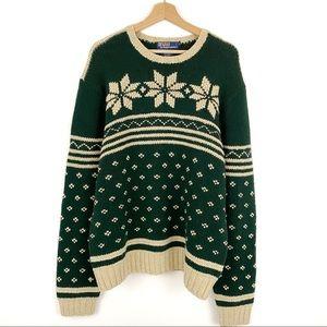 Polo by Ralph Lauren Vintage Wool Silk Sweater